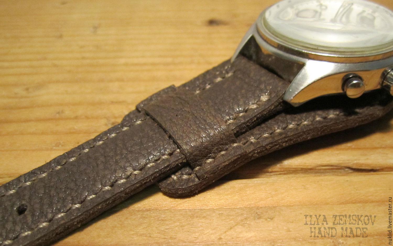 Где купить кожаный ремень для часов ремень белый мужской