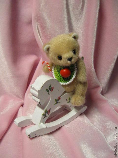 Мишки Тедди ручной работы. Ярмарка Мастеров - ручная работа. Купить Мишка.. Handmade. Бежевый, авторский мишка