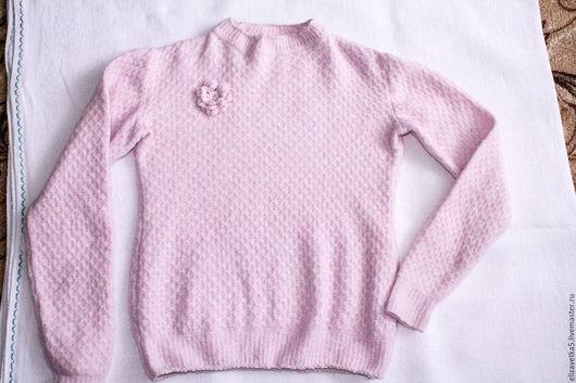"""Одежда для девочек, ручной работы. Ярмарка Мастеров - ручная работа. Купить Кофточка для девочки """"Розовая нежность"""".. Handmade. Бледно-розовый"""