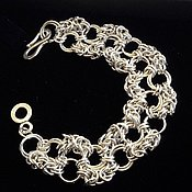 Украшения handmade. Livemaster - original item Silver bracelet 925. Handmade.