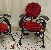 Для дома и интерьера handmade. Livemaster - original item the chair rose. Handmade.