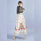 Одежда handmade. Livemaster - original item Skirt linen