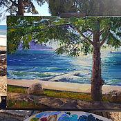 Картины и панно handmade. Livemaster - original item Pictures: Seascape oil
