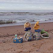 Куклы и игрушки ручной работы. Ярмарка Мастеров - ручная работа Чай с морским вареньем. Handmade.