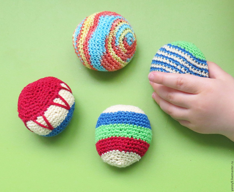 Купить Вязаные мячики - мячики, вязаные мячики, дети ...