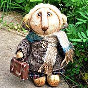 Куклы и игрушки handmade. Livemaster - original item Teddy lion