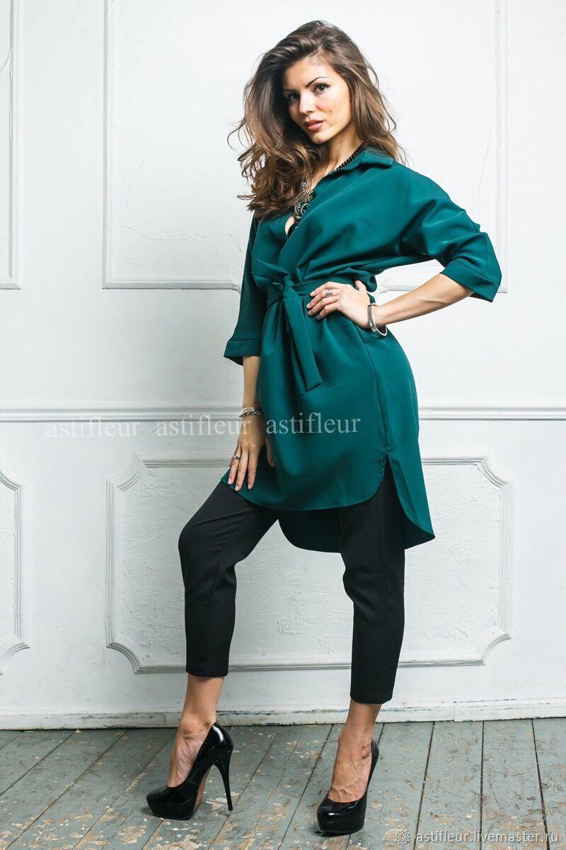 00e39981796 Платья ручной работы. Платье рубашка зеленого цвета. Astifleur.  Интернет-магазин Ярмарка Мастеров ...