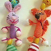 """Одежда ручной работы. Ярмарка Мастеров - ручная работа Слингобусы  с игрушкой """"три друга"""". Handmade."""
