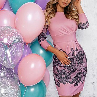 Одежда ручной работы. Ярмарка Мастеров - ручная работа -50% на модель от цены Платье 540. Handmade.