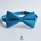 Аксессуары handmade. Livemaster - original item Tie Ultramarine blue with a purplish tint. Handmade.