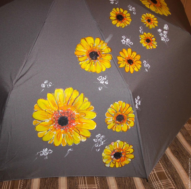 90b23282975951e3d25e2ff3bdi0--accessories-umbrella-parasol-hand-painted-gerbera-flowers Meilleur De De Parasol Design Concept