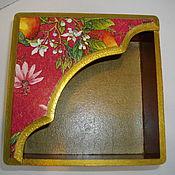 Для дома и интерьера ручной работы. Ярмарка Мастеров - ручная работа салфетница. Handmade.