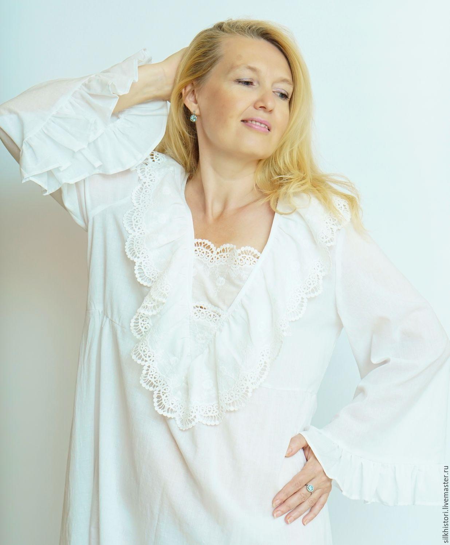 Блузка с кружевом доставка