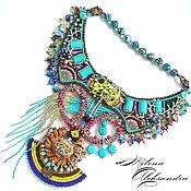 """Украшения ручной работы. Ярмарка Мастеров - ручная работа Африканское украшение """"Tugela"""" в этническом стиле. Handmade."""