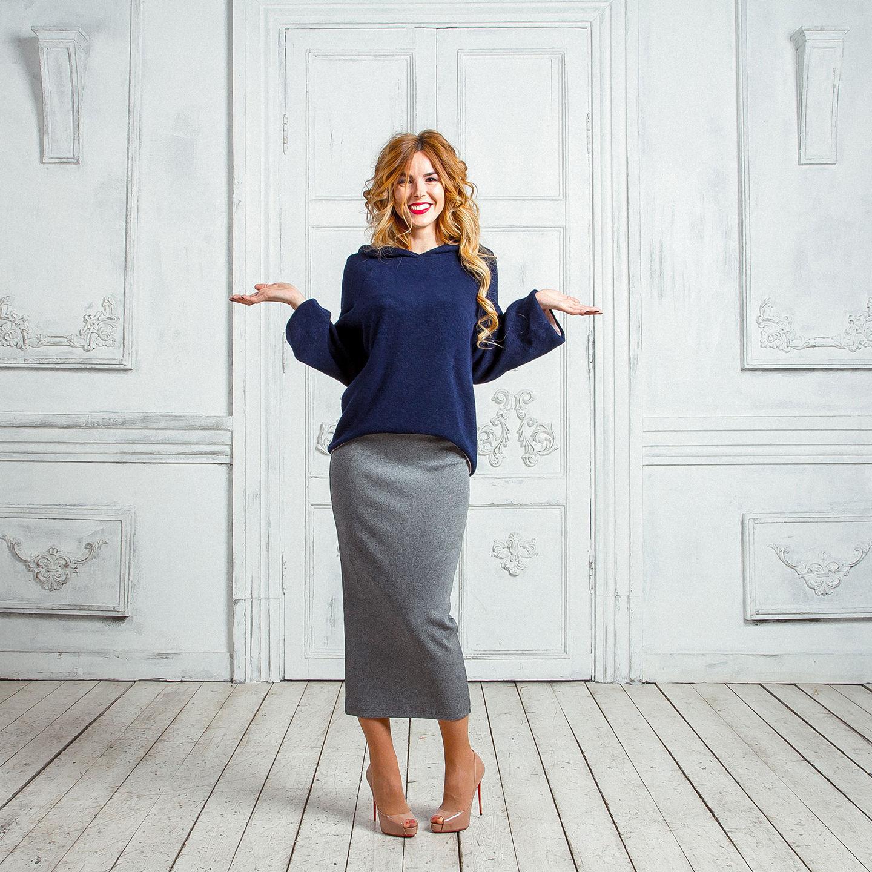 Трикотажную юбку купить в москве