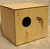 Для домашних животных, handmade. Livemaster - original item House for parrots. Handmade.