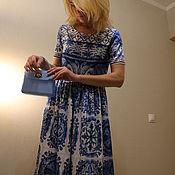"""Одежда ручной работы. Ярмарка Мастеров - ручная работа Платье """"Majolica"""". Handmade."""
