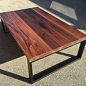 Столы ручной работы. Ярмарка Мастеров - ручная работа Журнальный столик в стиле лофт. Handmade.