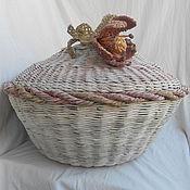 Для дома и интерьера handmade. Livemaster - original item wicker basket style shebi chic. Handmade.
