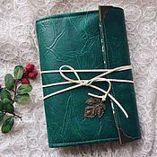 Канцелярские товары handmade. Livemaster - original item Forest softbook. Handmade.