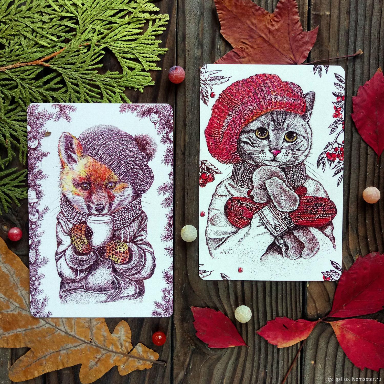 компьютерная авторские открытки иллюстрации пошаговыми фото подробные