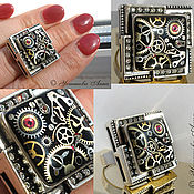 Субкультуры ручной работы. Ярмарка Мастеров - ручная работа Стимпанк кольцо, кольцо в стиле стимпанк/  Steampunk. Handmade.