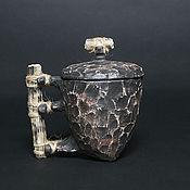 """Посуда ручной работы. Ярмарка Мастеров - ручная работа кружка """"Хэ"""". Handmade."""