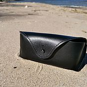 Сумки и аксессуары handmade. Livemaster - original item Case, case for glasses made of genuine leather.. Handmade.