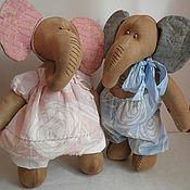 Куклы и игрушки ручной работы. Ярмарка Мастеров - ручная работа Слоники, мои малыши... Handmade.