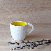 Посуда ручной работы. Ярмарка Мастеров - ручная работа Кружка Желтый камень. Handmade.