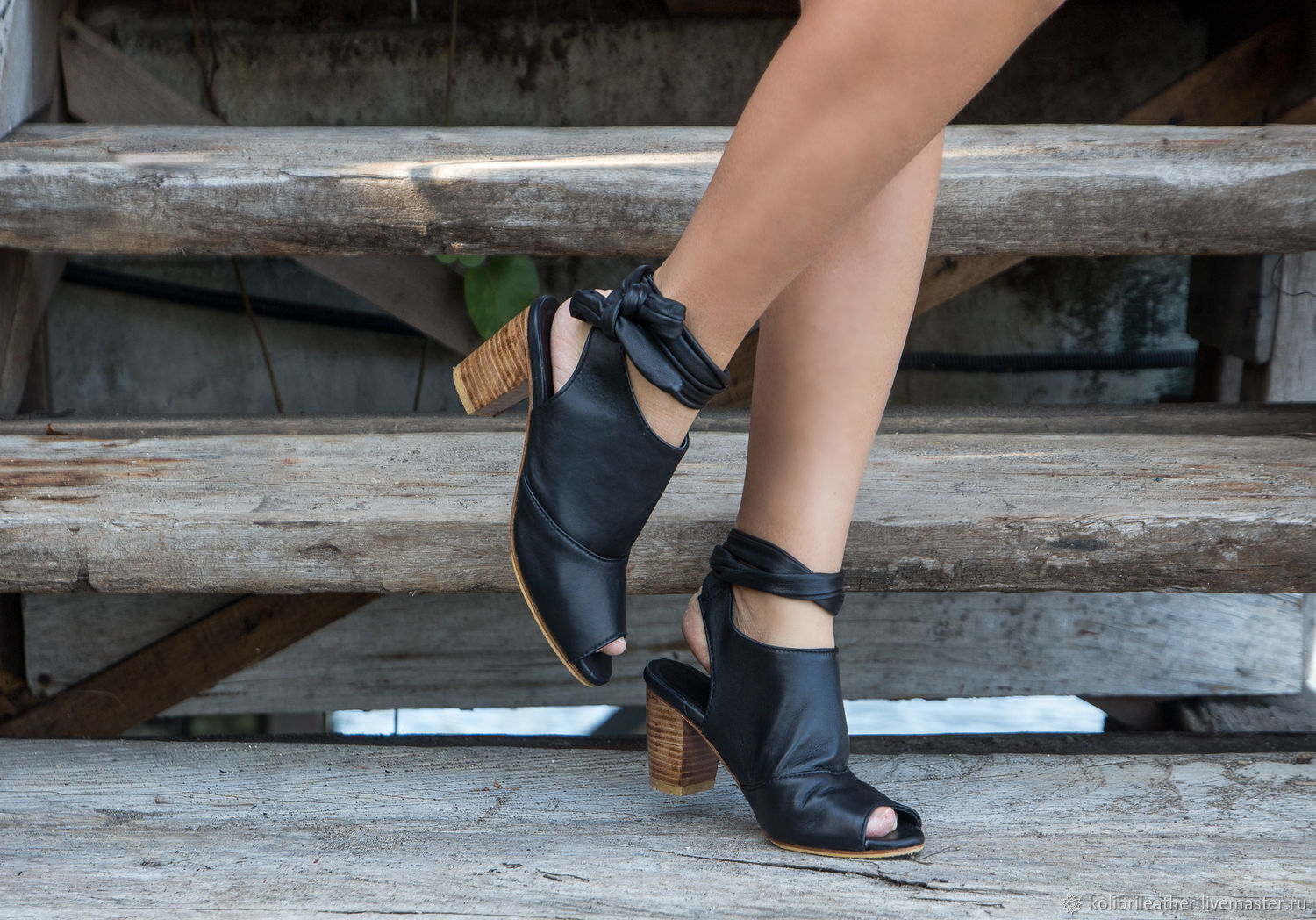 Sandals in genuine leather by Emma . Women's leather high heel shoes, Shoes, Chelyabinsk,  Фото №1