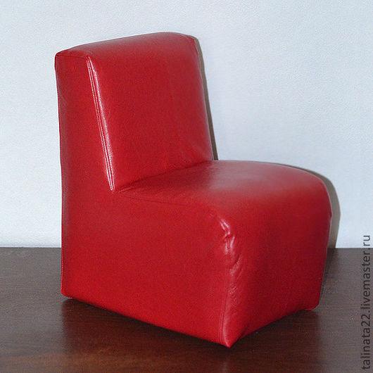 Кукольный дом ручной работы. Ярмарка Мастеров - ручная работа. Купить Кресло для кукол BJD, модель Е1, красное. Handmade.