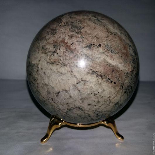 7,8 см шар из мрамора.Работа Руслана Соцкого.