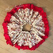 Работы для детей, ручной работы. Ярмарка Мастеров - ручная работа Яркая цветочная юбочка. Handmade.