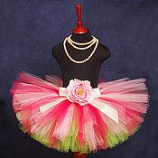 """Одежда ручной работы. Ярмарка Мастеров - ручная работа """"Мармеладное утро"""" юбка-пачка из фатина. Handmade."""