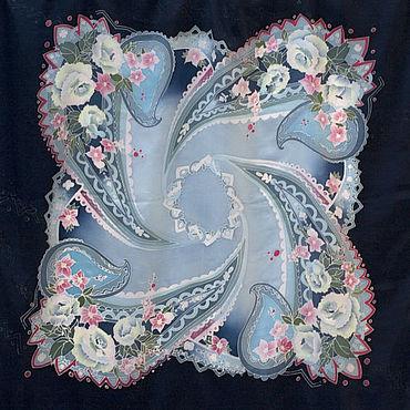 Accessories handmade. Livemaster - original item Shawls: Silk scarf