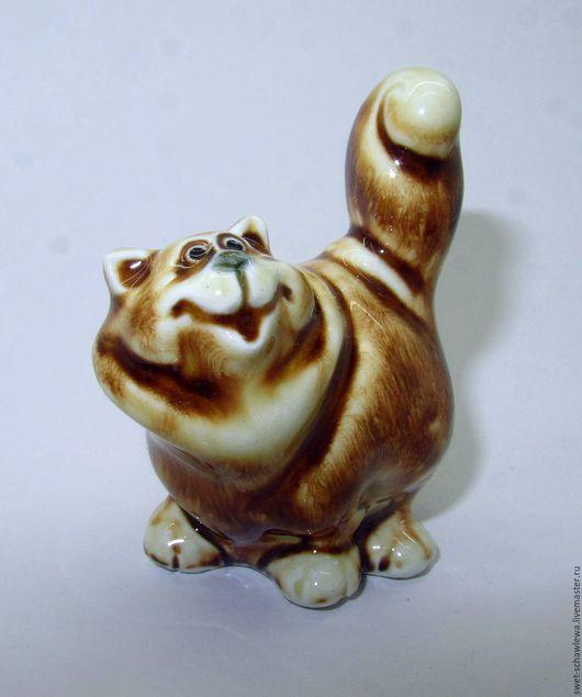 Миниатюрные модели ручной работы. Ярмарка Мастеров - ручная работа. Купить Кошка Погремушка. Handmade. Рыжий, бубенчик