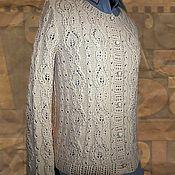 """Одежда ручной работы. Ярмарка Мастеров - ручная работа Жакет вязаный. """" Японские узоры"""". Handmade."""