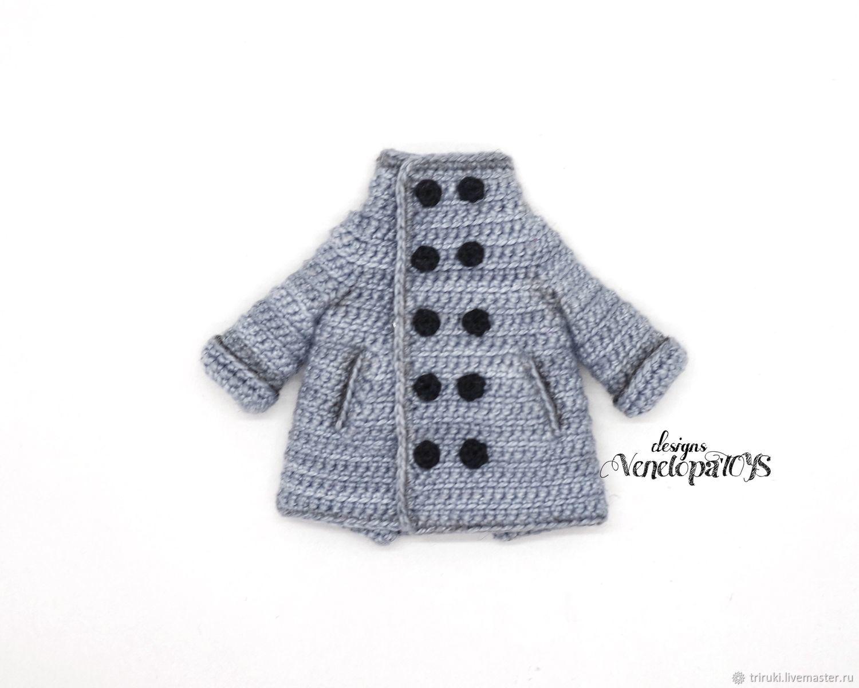 Master class ' Coat for dolls', Knitting patterns, Korolev,  Фото №1