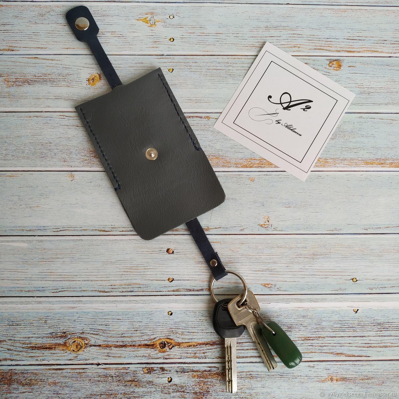 Ключница из натуральной кожи, Ключницы, Феодосия, Фото №1