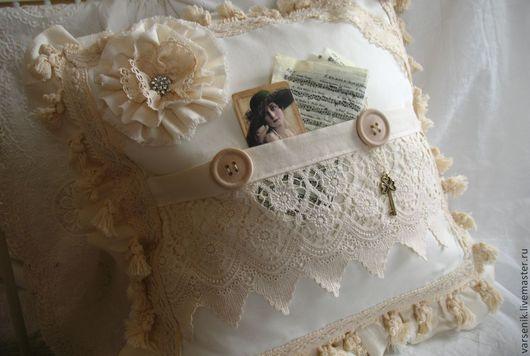 Текстиль, ковры ручной работы. Ярмарка Мастеров - ручная работа. Купить Подушка Для души. Handmade. Подушка декоративная