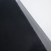 Материалы для творчества handmade. Livemaster - original item Embroidery net Italy, color black. Handmade.
