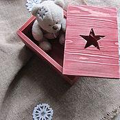 Подарки к праздникам ручной работы. Ярмарка Мастеров - ручная работа -10% Ящик подарочный. Handmade.