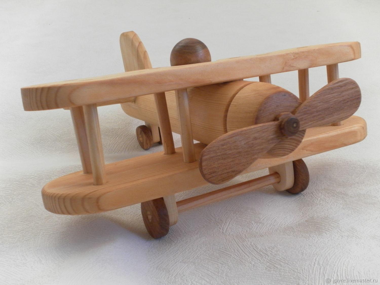 Самолет деревянный, Техника роботы транспорт, Королев,  Фото №1