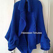 Одежда handmade. Livemaster - original item Cardigan, sweater, coat from Jo Storie. Cornflower. Blue.. Handmade.