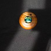 Украшения ручной работы. Ярмарка Мастеров - ручная работа Кулон из натурального дерева ТИК. Handmade.