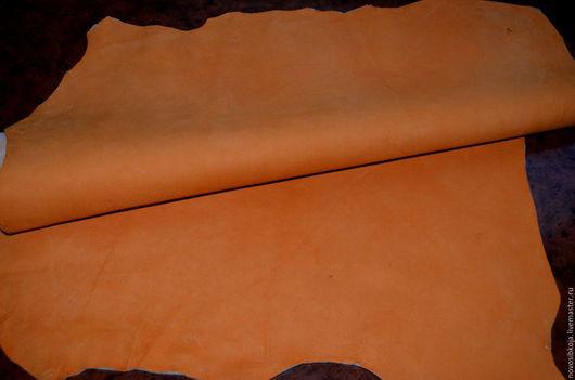 Шитье ручной работы. Ярмарка Мастеров - ручная работа. Купить Оранжевая замша МРС.. Handmade. Рыжий, кожу купить