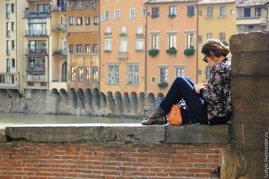 LuStyle. Авторская фоторабота `Встретимся на мосту...` Флоренция, 2014 г.