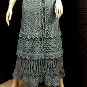 Одежда ручной работы. Ярмарка Мастеров - ручная работа Sweet Absinthe - Летняя юбка крючком.. Handmade.