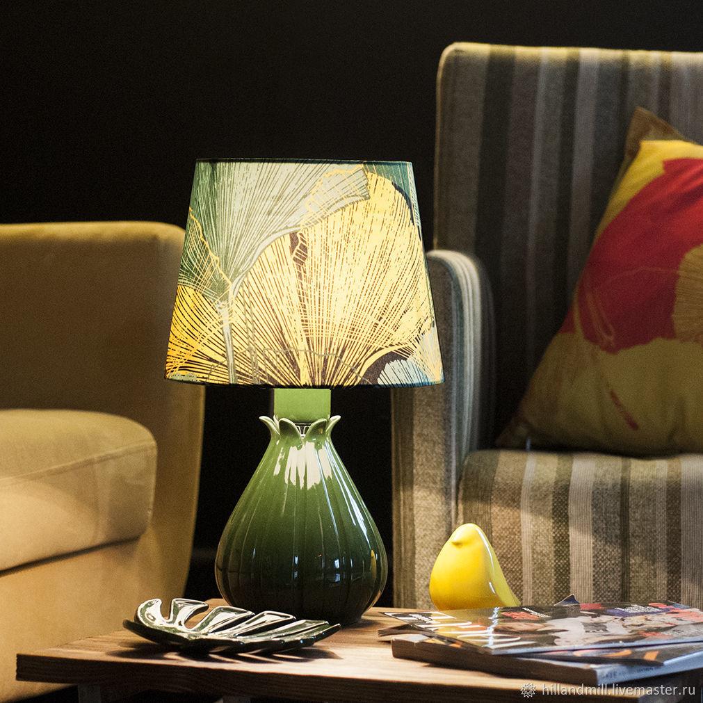 Table lamp ' Melon Emerald', Table lamps, Vyazniki,  Фото №1